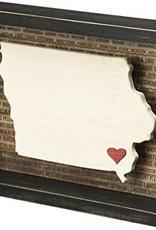 Iowa - Sign