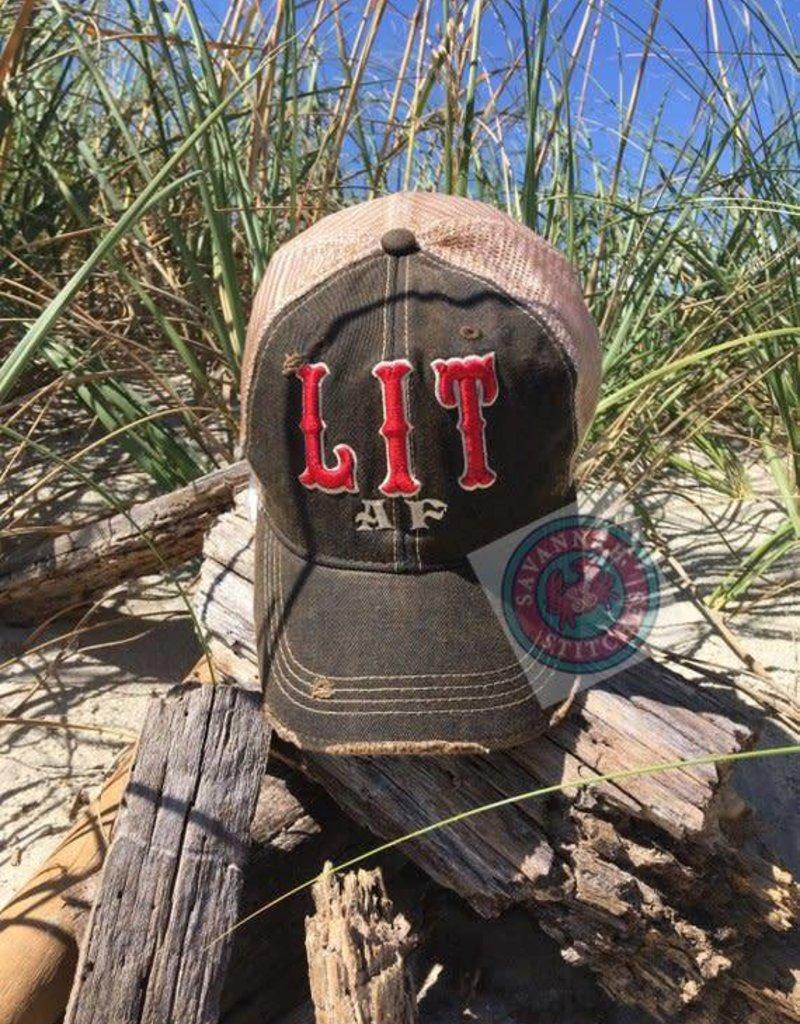 Lit AF Hat