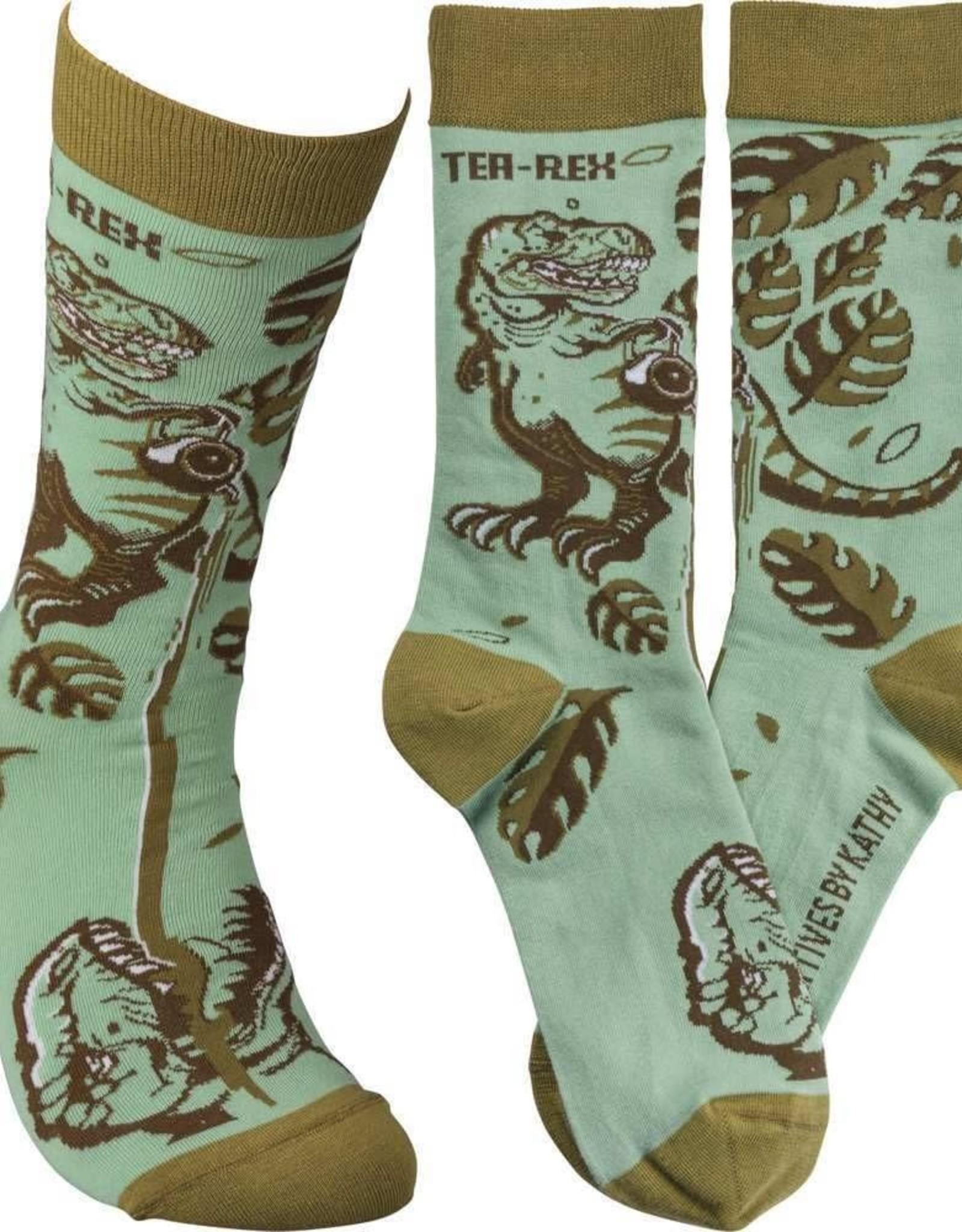 Tea-Rex Socks
