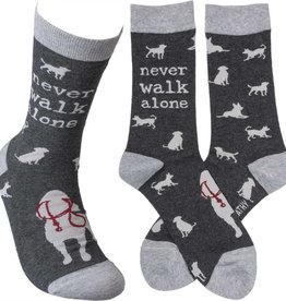 Never Walk Alone Socks