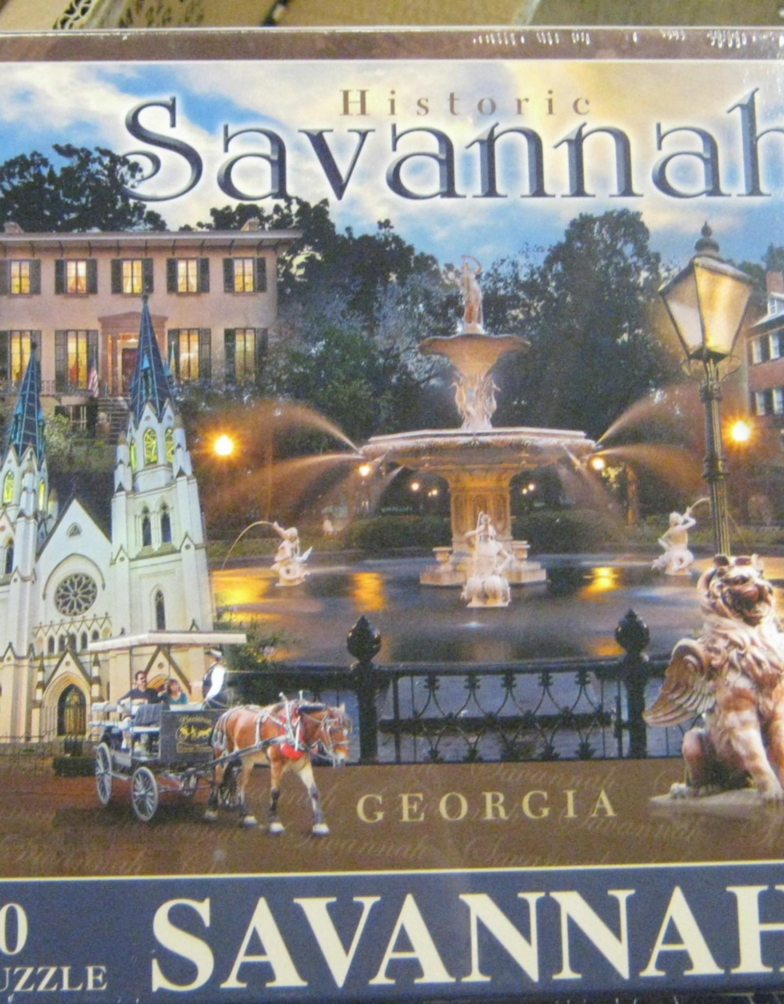 Savannah Signature Puzzle