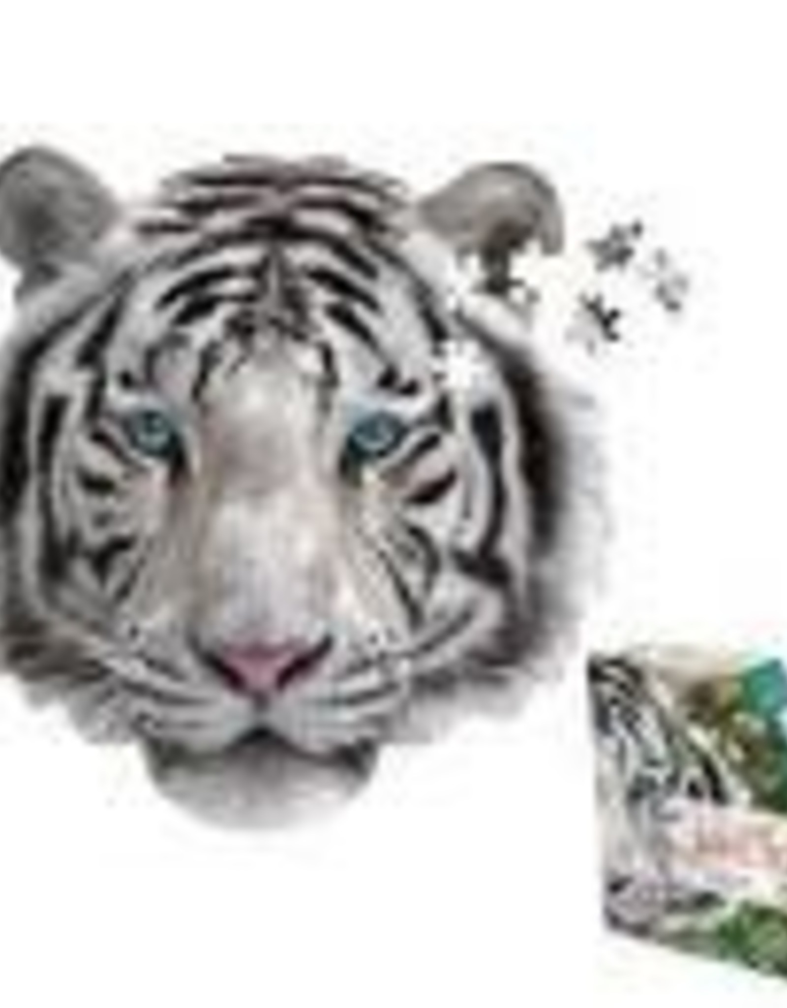 I am Mini White Tiger Puzzle