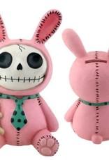 Furrybones Bank Bun-Bun (Pink Bunny)