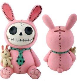 Furrybones Bank Bun-Bun(Pink Bunny)