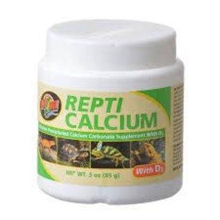 Zoo Med Repti Calcium with D3 Reptile Supplement 3 oz