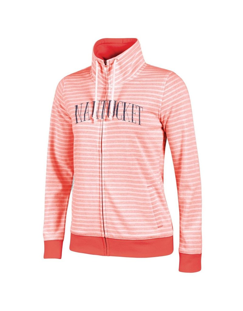Gear Gear G7098 Ladies Striped FZ Nantucket Arc