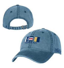 Gear Gear GH200M Mens Washed Cap ACK Nautical Flags