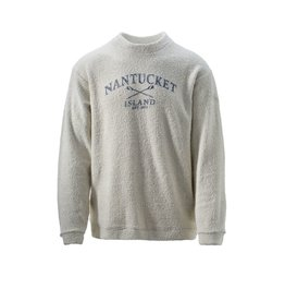 Austins Austins Unisex Terry Loop CN Nantucket w/Crossed Oars