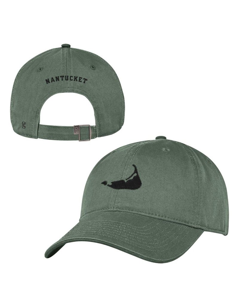 Gear Gear's classic cap in solid color is a fresh clean look. Big island shape on the front and small nantucket on the back.