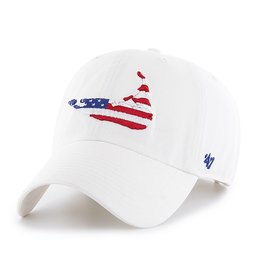 47 Brand 47 Clean Up Cap Island Flag