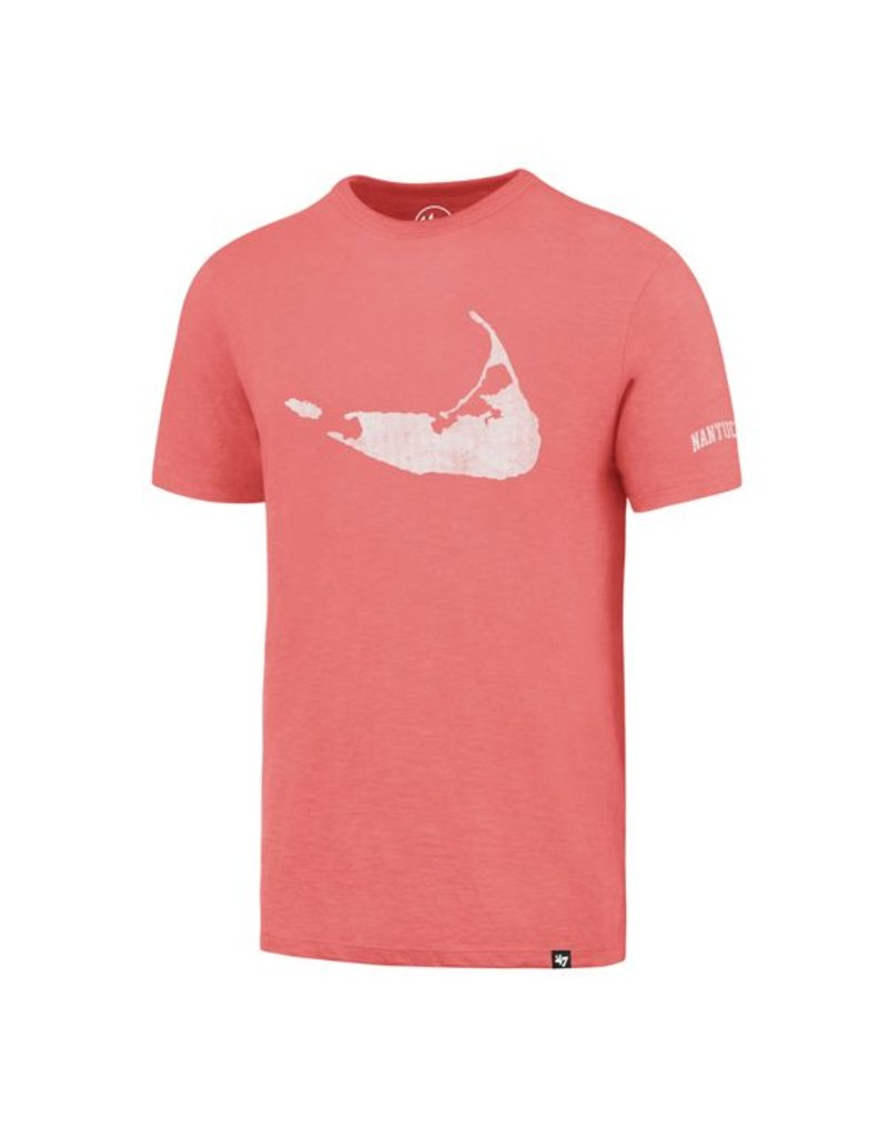 47 Brand 47 Mens Scrum Tee Island Shape