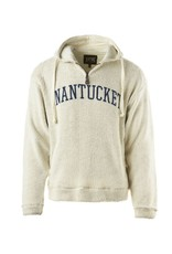 Austins Austins Unisex Terry Loop 1/4 Zip Nantucket Arc