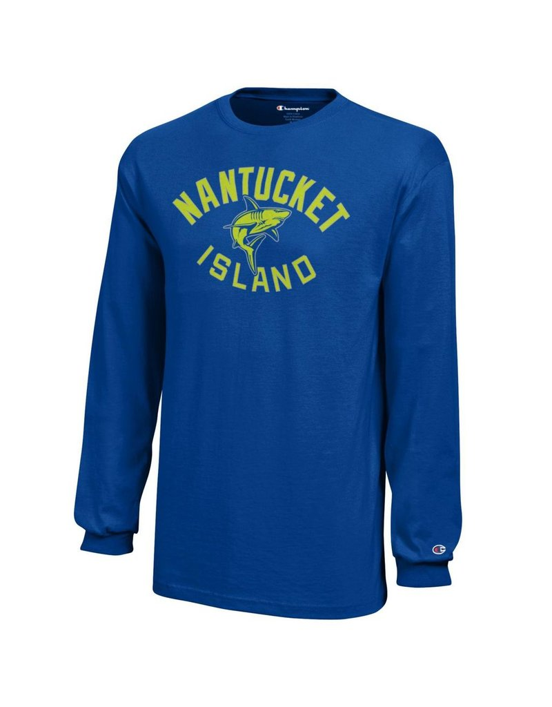 Champion CT1751 Champion Youth LST Nantucket Island Shark