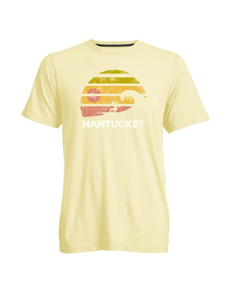 Camp David Camp David Mens Go To Tee Circle Sunset Surfer
