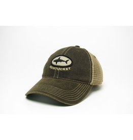 Legacy Legacy Mens Trucker Cap Shark In Circle