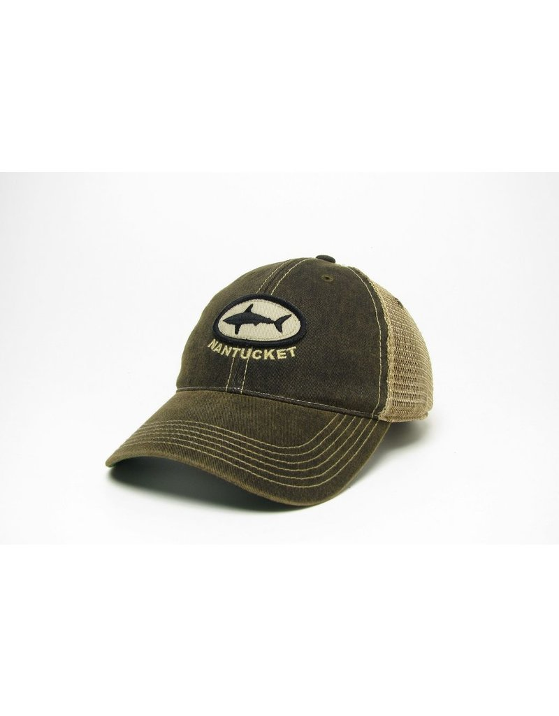 Legacy Legacy old favorite trucker hat. 100% cotton twill with a  proprietary wash to create ... 1709f7f4f93