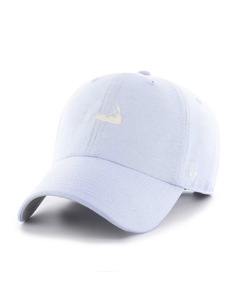 47 Brand 47 Brand's ladies cut hat in oxford cloth is lightweight while holding a great shape.