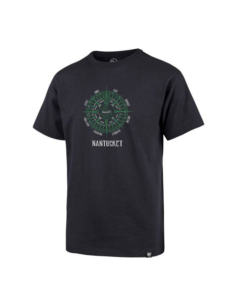 47 Brand 47 Youth Super Rival Tee, Tommy's Compass Over Nantucket