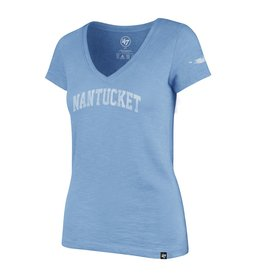 47 Brand 47 Ladies V-Neck Scrum Nantucket Arc