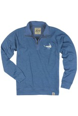 Legacy Legacy Mens French Terry 1/4 Zip Lch ACK Island Shape