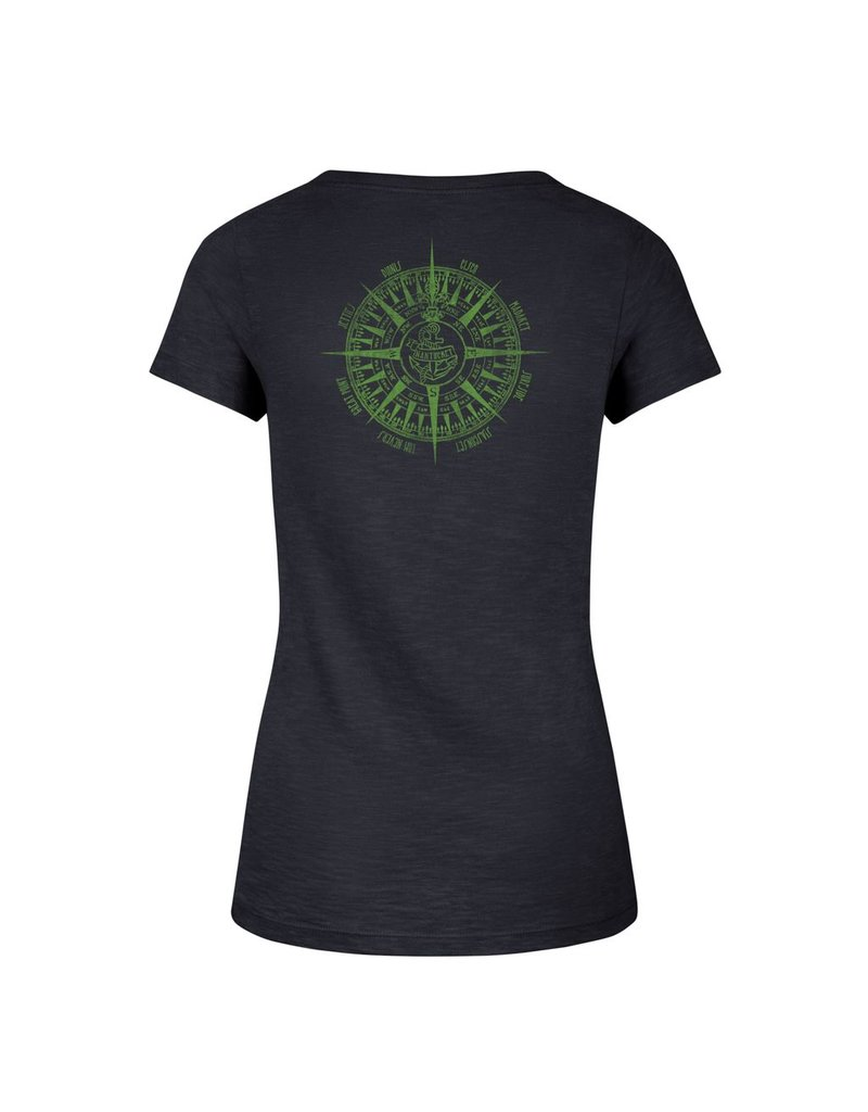 47 Brand 47 Ladies Scrum V-Neck Tee Tommys Compass