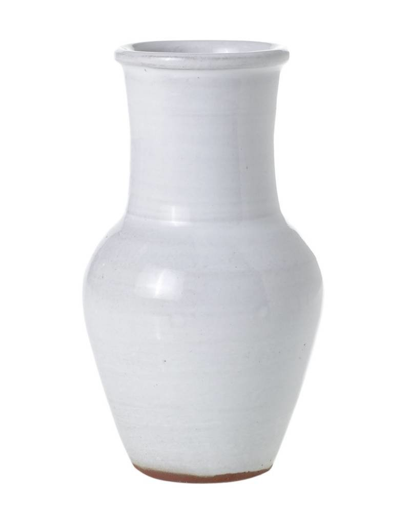 White Isabella Tall Vase