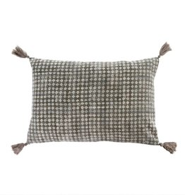 Lisbon Block Print Pillow