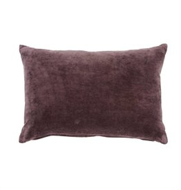 Velvet Accent Pillow, Syrah