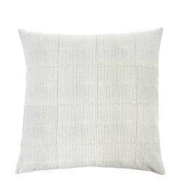 Monica Grey Block Pillow