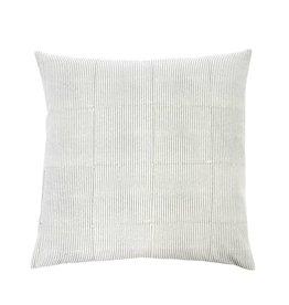 Monica Gray Block Pillow