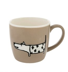 Dog Days Mug, Taupe
