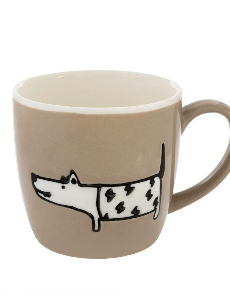 Taupe Ceramic Dog Days Mug