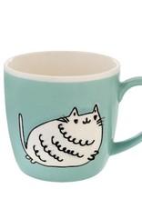 Meow Mug, Blue