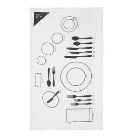 Linen Place Setting 101 Tea Towel