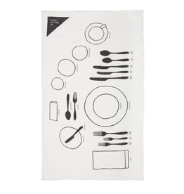 Place Setting 101 Tea Towel