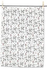 Miniature Dogs Tea Towel