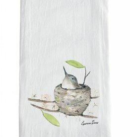 Bird in Nest Towel