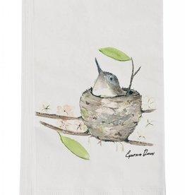 Bird in Nest Guest Towel
