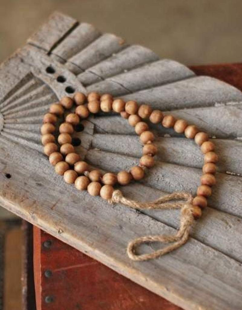 Natural Wooden Garland Beads