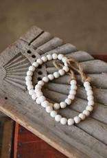 White Wash Beads