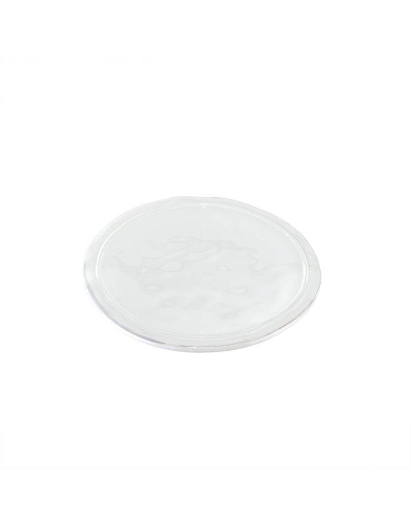 White Ceres Dessert Plate