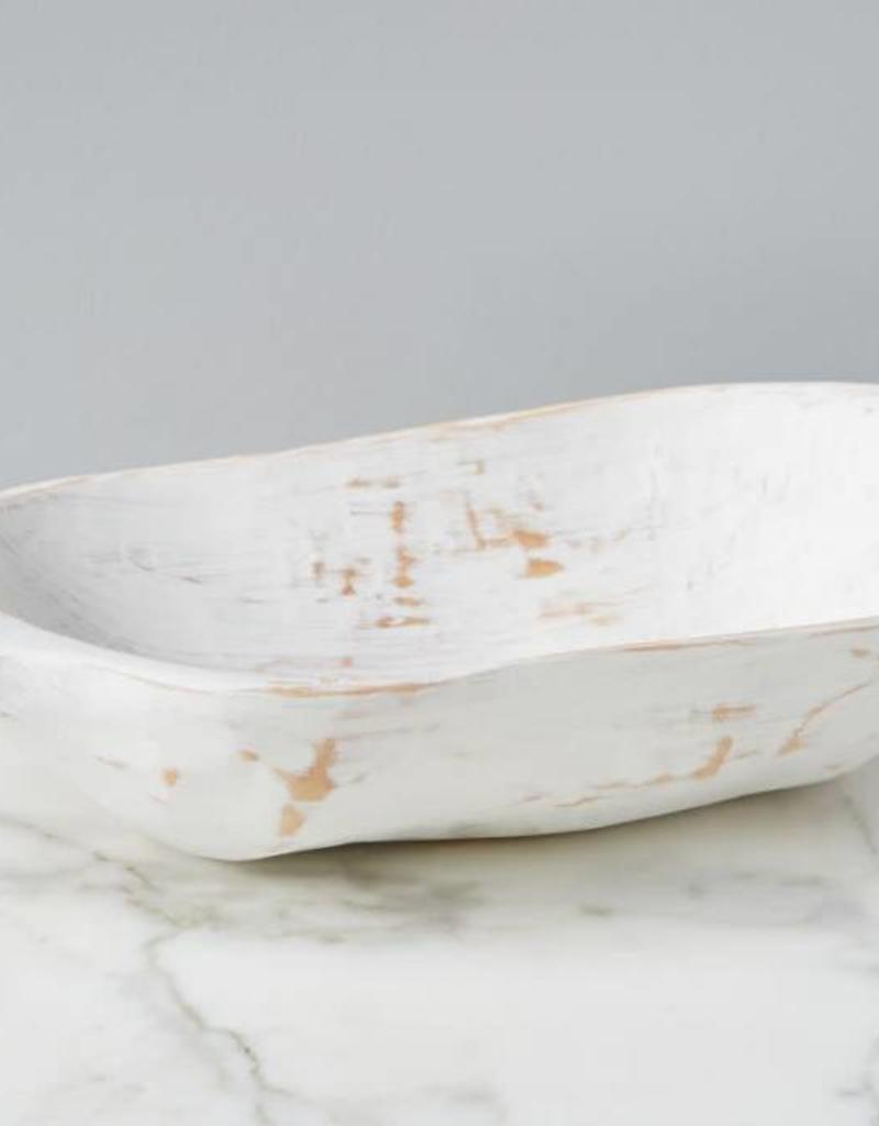 White Bread Serving Bowl - Small