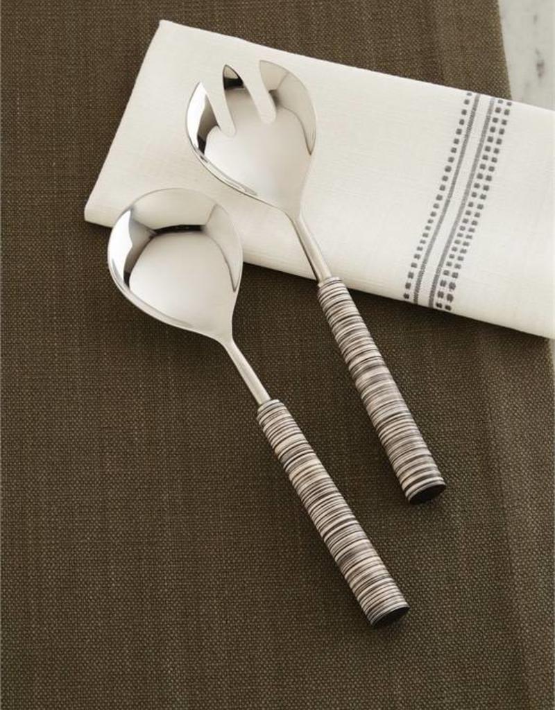 Stainless Steel + Resin Serving Fork
