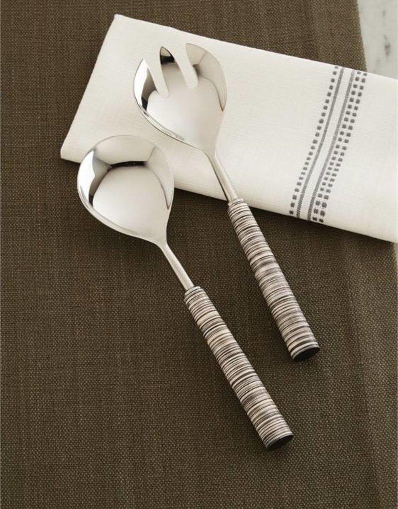 Stainless Steel + Resin Serving Spoon