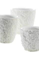 Large White Ellie Reef Vase