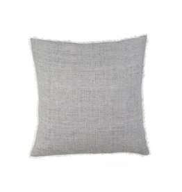 Belgian Linen Pillow- Navy Stripe