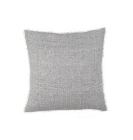 Belgian Linen Pillow- Navy Stripe
