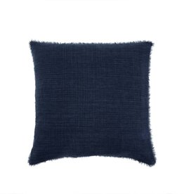 Belgian Linen Pillow - Cobal