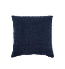 Belgian Linen Pillow - Cobalt