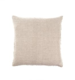 Belgian Linen Pillow - Dusty Pink